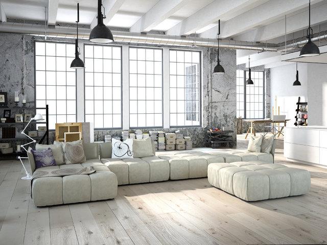 Modne mieszkanie w fabryce, czyli jak urządzić loft