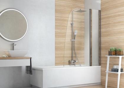 Elegancka i minimalistyczna łazienka